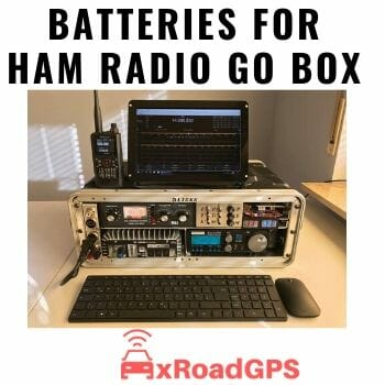 best battery for HAM radio GO Box