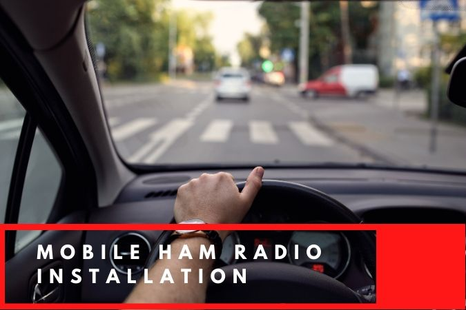 how to install a mobile ham radio