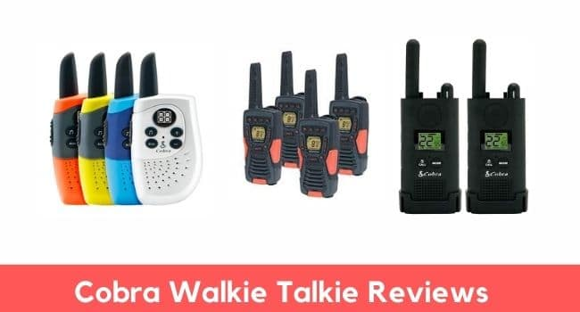 Cobra walkie talkie reviews