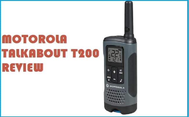 Review and testing report of Motorola T200 Talkabout