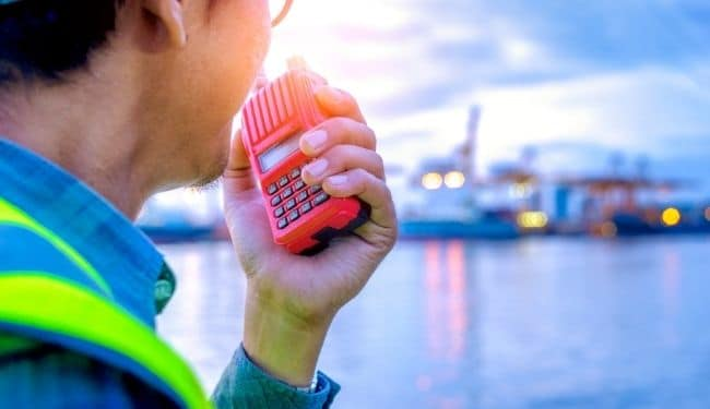 best walkie talkie for cruise ships
